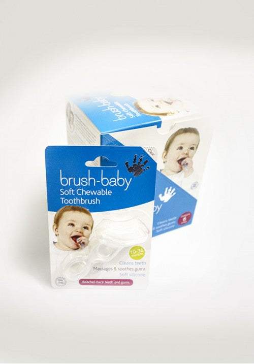 Brush-Baby Chewable Toothbrush For Kids (Age 0.8-3 yrs) - Eleven2Six Store in India