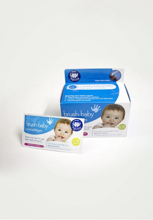 Brush-Baby Dental Wipes Box (Age 0-16 Months) - Eleven2Six Store in India