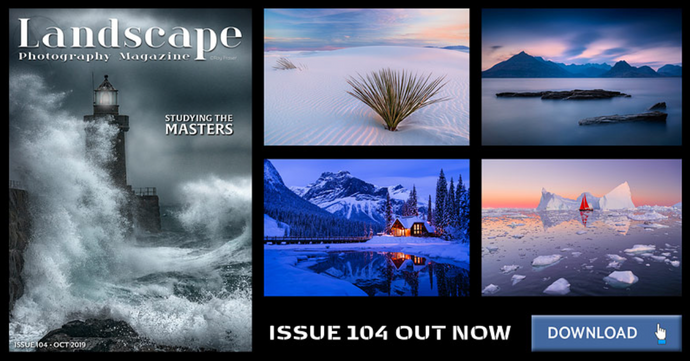 White Dunes wins Landscape Photography Magazine Galleria Feature