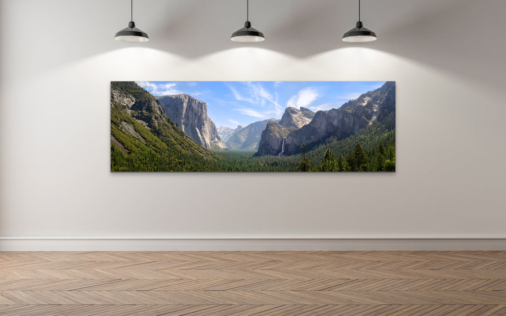 Yosemite Valley, open edition canvas