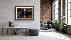 Black Wall Falls Limited Edition Print