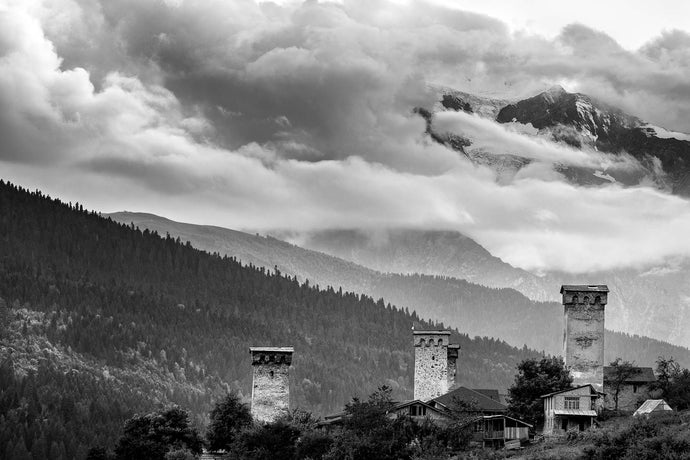 Svan Towers - Francesco Emanuele Carucci Photography