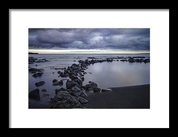 Black Sand Beach Limited Edition Print