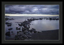 Load image into Gallery viewer, Black Sand Beach - Francesco Emanuele Carucci Photography