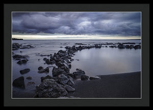 Black Sand Beach - Francesco Emanuele Carucci Photography