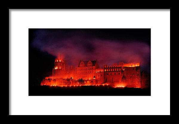 Red Castle Limited Edition Print