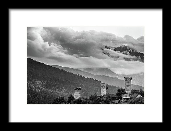Svan Towers Limited Edition Print