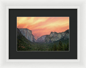 Red Valley Limited Edition Print