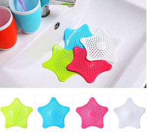 1 Pc Star Sewer Sink Strainer/anti-blocking Tool