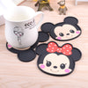 1 PcMickey & Mini Silicone Anti Slip Cup/Bowl Mat