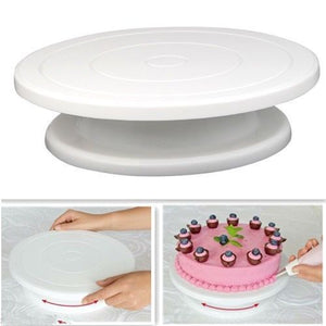 28cm Kitchen Cake Decorating & rotatable icing