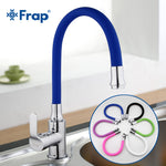 Rotating Kitchen Faucet Cold and Hot Water Mixer