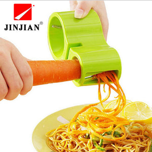 Spiral Vegetable Slicers/multi-function Kitchen Accessories