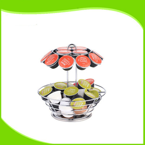 Coffee Pod Holder Storage Rack