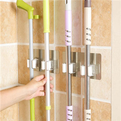 Wall Mounted Storage Mop Holder
