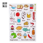 Cartoon Removable Kitchen/refrigerator Wall Stickers