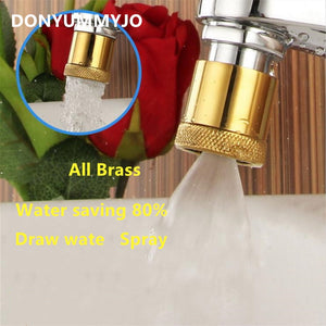 2 Function Brass  Aerator Connector for  Basin Accessories