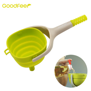 Foldable Bottle & Flask Funnel