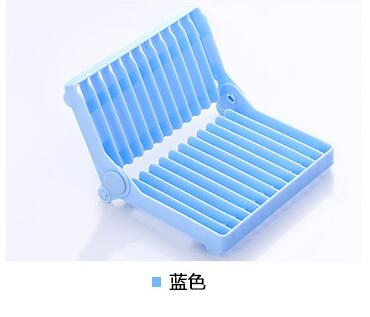Foldable Dish Plate Drying Rack Holder