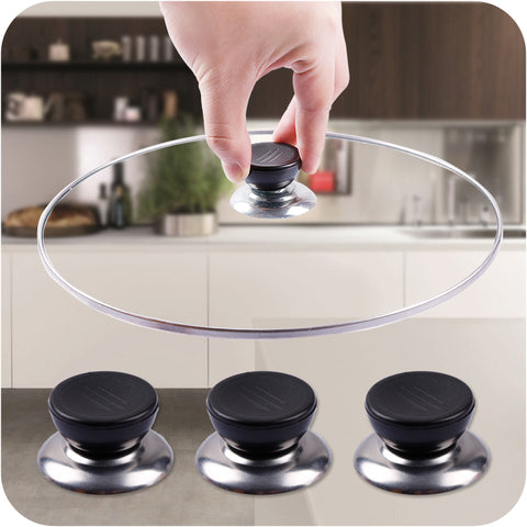 1 Pc Anti Hot-Pot Handle Glass Top