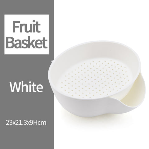 Multi-functional Double Layer Strainer Basket