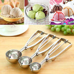 1 Pcs New 2018 Stainless Steel Ice Cream Spoon