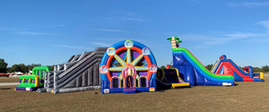 Infltables Festival, Obstacle Course, Bowman Field, Louisville Kentucky