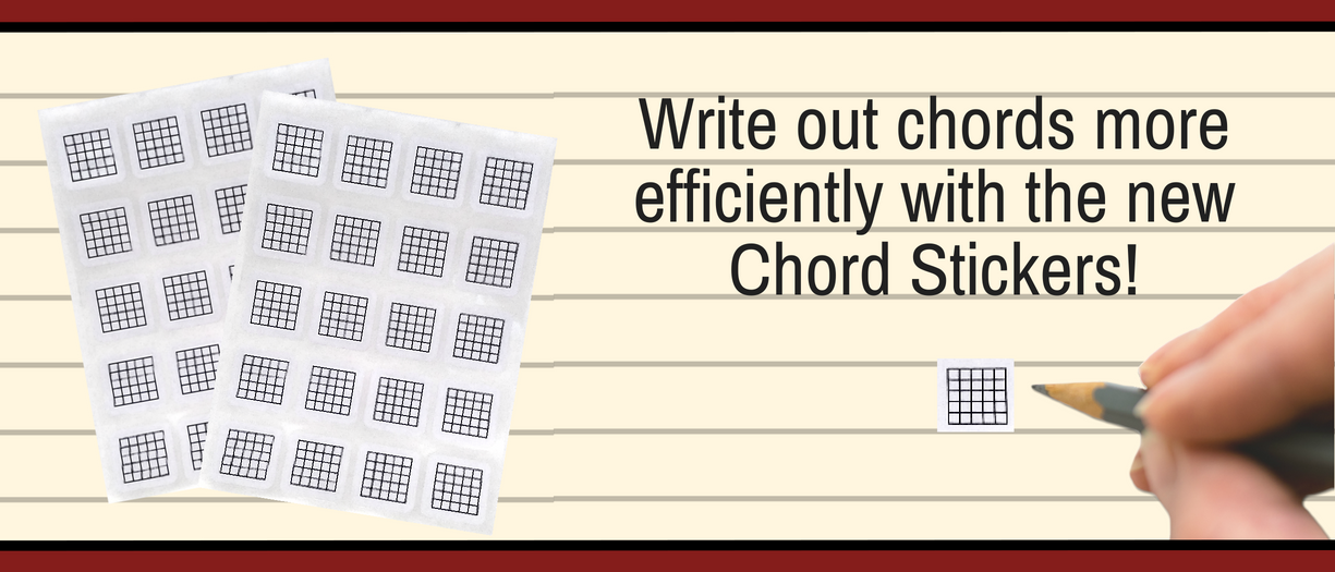 New! Chord Diagram Stickers