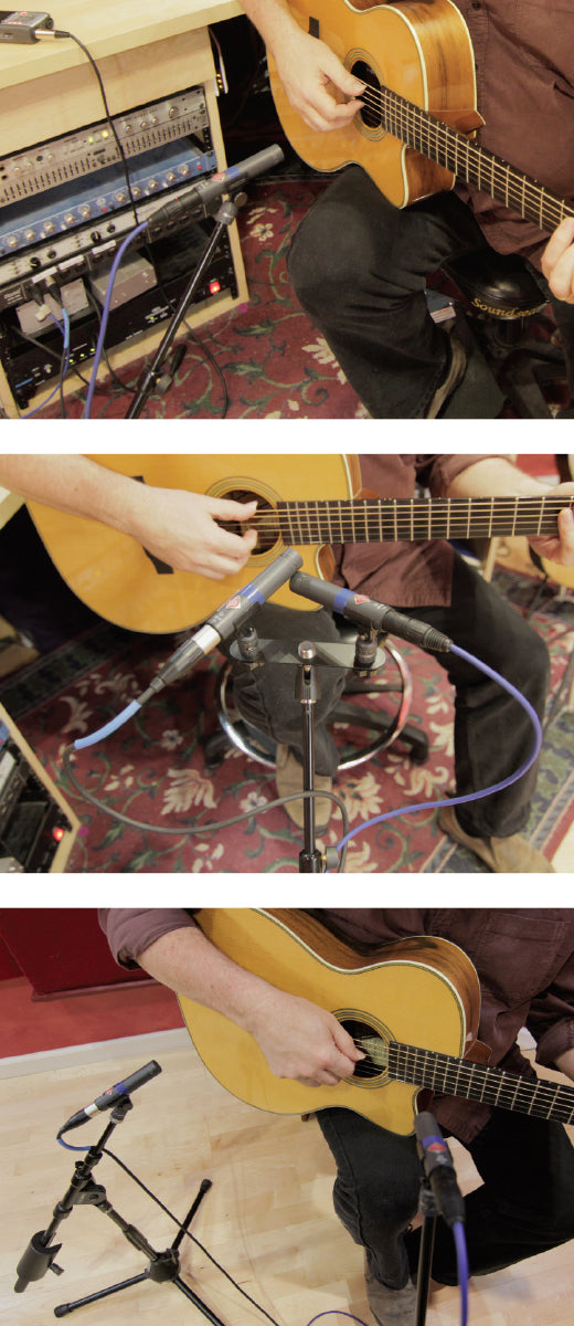 all about mic placement for home recording acoustic guitar. Black Bedroom Furniture Sets. Home Design Ideas