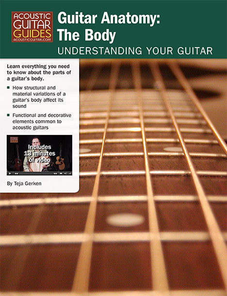 Understanding Your Guitar – Guitar Anatomy: The Body