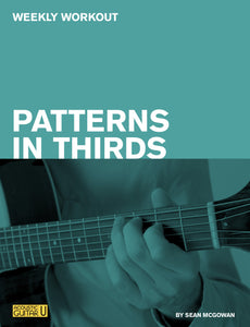 Weekly Workout: Patterns in Thirds