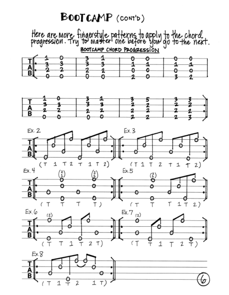 10 Etudes for Fingerstyle Ukulele