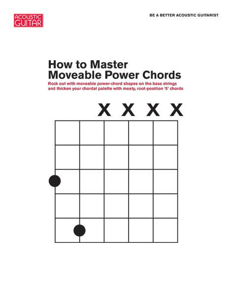 Be A Better Acoustic Guitarist How To Master Moveable Power Chords