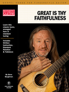 Gospel Songs for Fingerstyle Guitar: Great Is Thy Faithfulness
