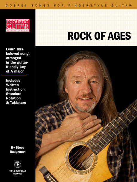Gospel Songs for Fingerstyle Guitar: Rock of Ages