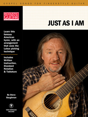 Gospel Songs for Fingerstyle Guitar: Just As I Am