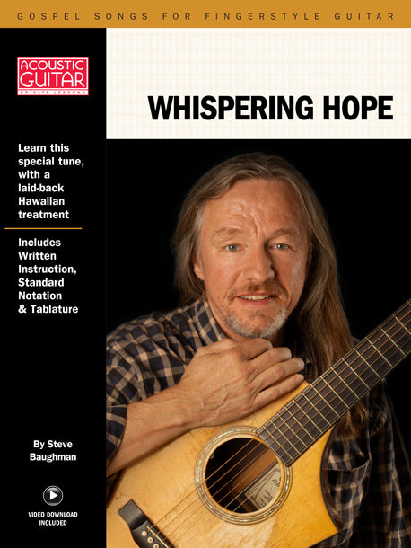 Gospel Songs for Fingerstyle Guitar: Whispering Hope