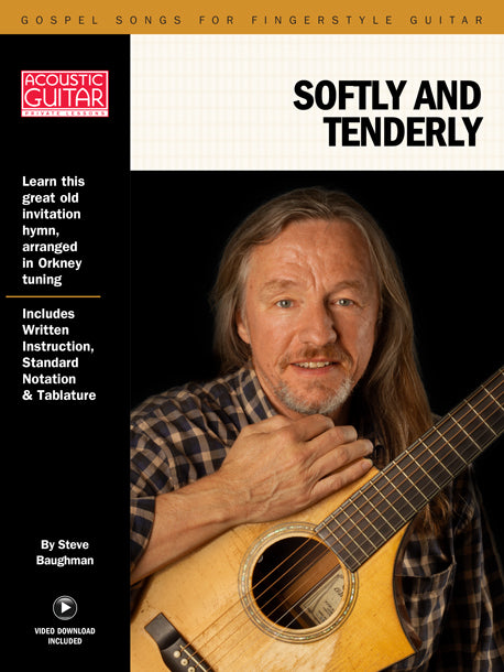 Gospel Songs for Fingerstyle Guitar: Softly and Tenderly