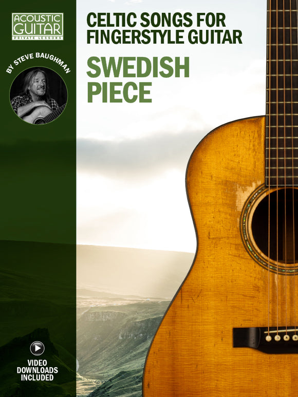 Celtic Songs for Fingerstyle Guitar: Swedish Piece