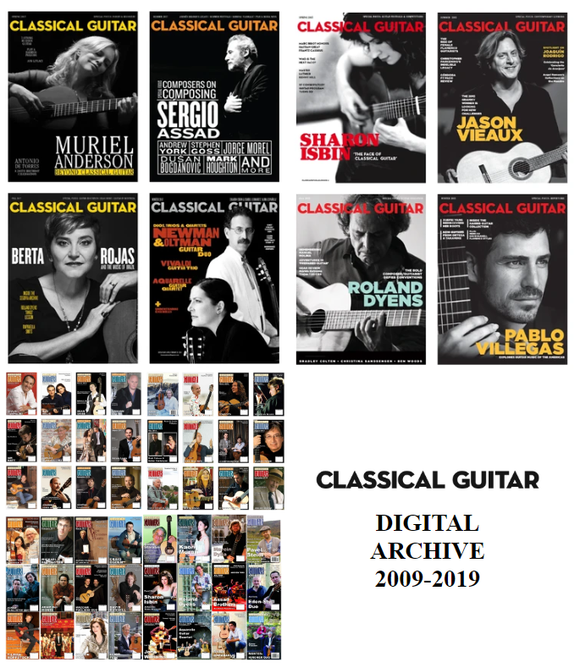Classical Guitar Digital Archive: 2009-2019