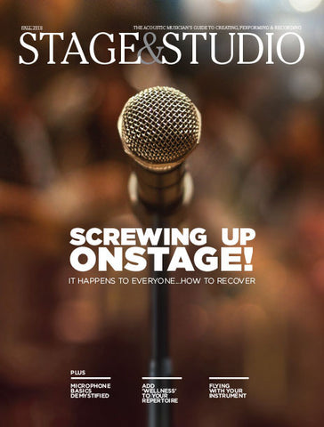 Digital Magazine Stage & Studio Fall 2016