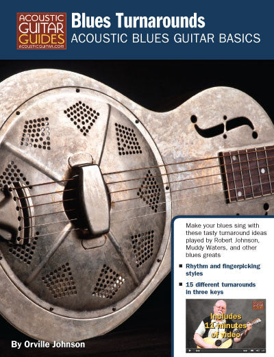 Acoustic Blues Guitar Basics: Blues Turnarounds