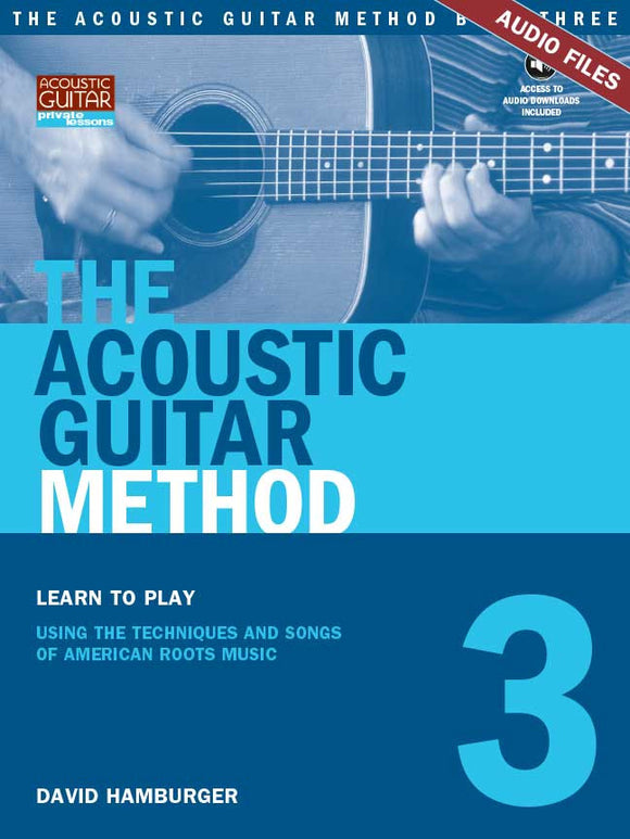The Acoustic Guitar Method: Book 3 - Complete Audio Tracks