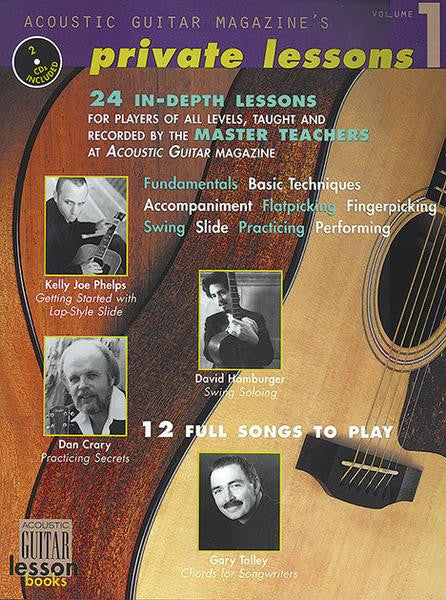Acoustic Guitar Magazine's Private Lessons: Complete Audio Tracks