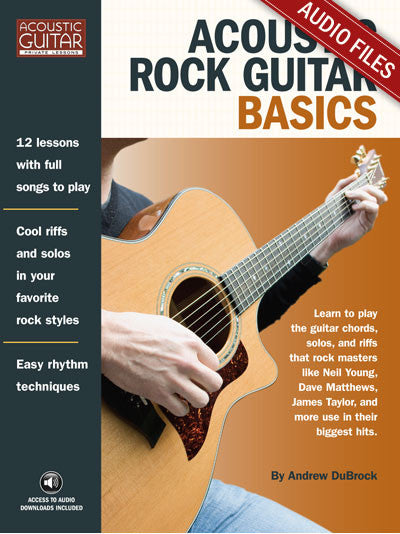 Acoustic Rock Guitar Basics: Complete Audio Tracks