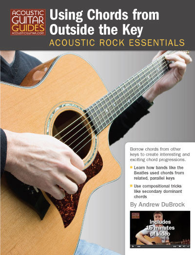 Acoustic Rock Essentials Using Chords From Outside The Key