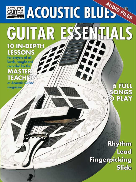 Acoustic Blues Guitar Essentials Audio Tracks