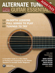 Alternate Tunings Guitar Essentials: Complete Audio Tracks