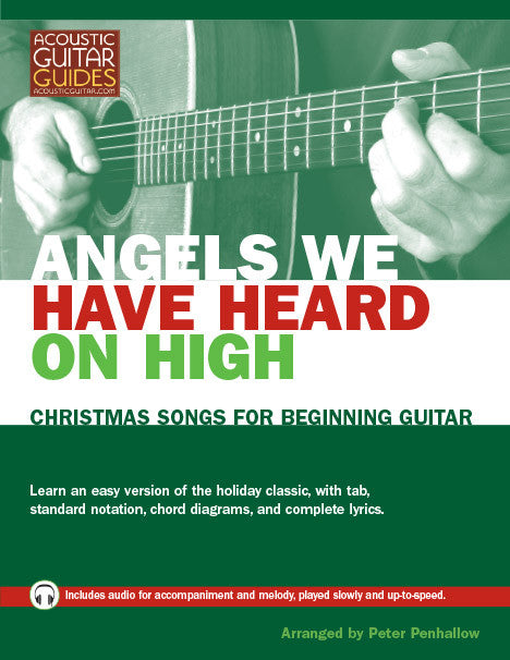 Christmas Songs for Beginning Guitar: Angels We Have Heard on High