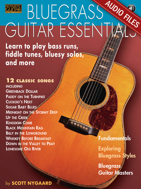 Bluegrass Guitar Essentials: Audio Tracks